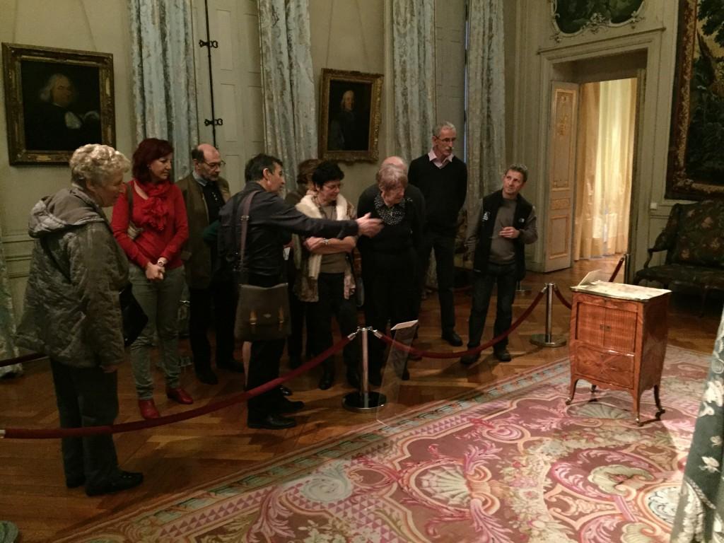 Visite du musée des arts décoratifs à Lyon