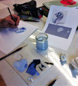 formation bijouterie dessin gouaché